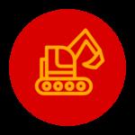 Crane and heavy equipment