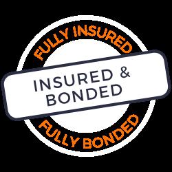 Insured & Bonded